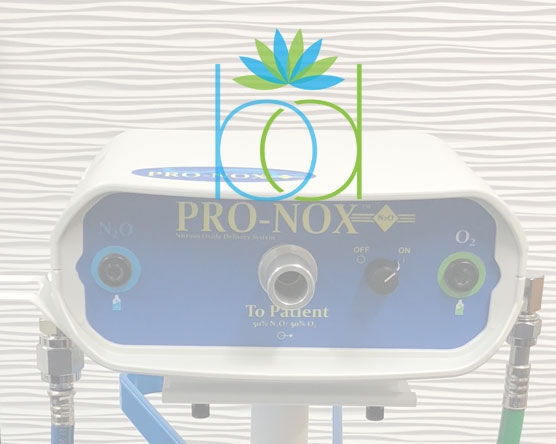 ProNox is on demand, patient administered nitrous oxide (laughing gas).