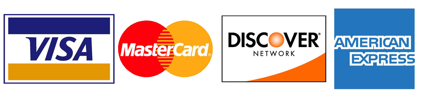 Bravia Dermatology also accepts Visa, Mastercard, Discover, and American Express (AMEX)
